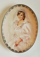 1997 The People's Princess Diana Collector Plate Queen of Our Hearts Bradford