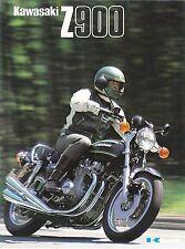 Kawasaki Z900 Z1  6 page Motorcycle Brochure NCS