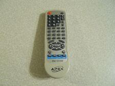 APEX TV- DVD  Orginal Manufacture Remote control Model RM-1010W
