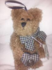 "Boyds Plush Christmas Ornament #56201-06 Billy Bob 5"""