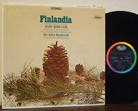 "JOHN BARBIROLLI-HALLE ORCH Sibelius: ""Finlandia"" RARE EXC 1966 CAPITOL STEREO LP"