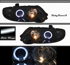 Angel Eye Projector Halo Black Head Lights Right Left Side Holden Commodore VX