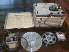 Vintage Eastman Kodak Brownie Movie Projector, reels, transformer, meter etc