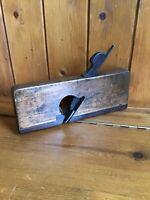 Antique Vintage Carpenters Wooden Moulding Plane - Stamped N Norton. Nice Patina
