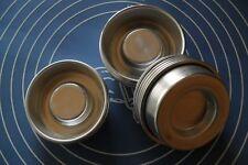 Set 8 Moules En Aluminium A3djib / Mini Savarin /  Mini Baba / Cake Sablé Etc...