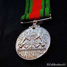 Defence Medal WW2 British Defence Service Civilian Service Campaign Medal Repro