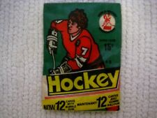 WHA O-PEE-CHEE 1977-78 Sealed Hockey Cards Bubble Gum Wax Pack .15 Cents