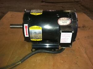 Baldor 7.5 HP Motor 230/460 V 3 Phase