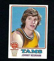 NMT 1973 Topps Basketball #243 Johnny Neumann.