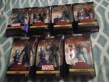 "MARVEL LEGENDS CAPTAIN MARVEL 6"" BAF KREE SENTRY COMPLETE SET OF 7 FIGURES"