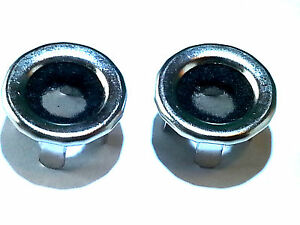 68-91 GM Door Panel Lock Latch Knob Pulls Grommet Bushings Felt Ferrules 2pc HZ