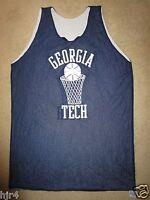 Georgia Tech Yellow Jackets #33 Basketball Practice Game Worn Jersey XL
