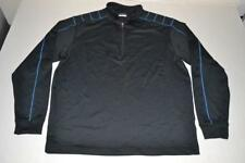 Nike Golf Fitness Navy Blue Half Zip Pullover Sweat Shirt Mens Size Large L