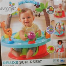 Summer 3-Stage Deluxe SuperSeat Wild Safari Booster Seat Tray Toys New Condition