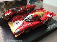 """CARRERA DIGITAL 124 23798 Ferrari 512S Berlinetta """"No.4"""", Brands Hatch 1970 NEU"""