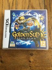 Golden Sun Dark Dawn (unsealed) - Nintendo DS UK Release New!