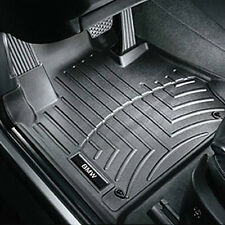 Genuine BMW F15 X5 All-Weather Floor Liners Molded Mats Black Front and Rear