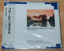 Klemperer - Brahms Symphony No.2 - Sealed Seraphim Series Japan CD TOCE-1567