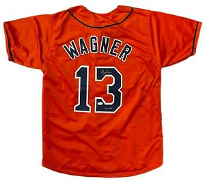 BILLY WAGNER Autographed SIGNED CUSTOM JERSEY 422 SAVES ASTROS JSA CERTIFIED