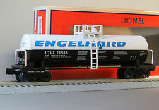 LIONEL ENGLEHARD UNIBODY TANK CAR #24586 gauge train freight tanker 6-82859 NEW