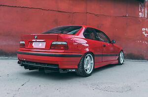 BMW E36 M3 Rear diffuser FANCYWIDE V2