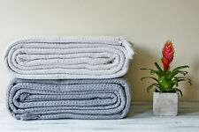 100% Cotton Sofa / Bed Throws in 5 sizes