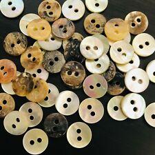 Wholesale Button Lot 1000 14L 9mm Japan DIY Real Pearl Shell Shirt Agoya Akoya