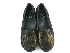 Dansko 'Olivia' Smoking Slipper Womens 36 Sz 6 US Bronze Comfort Loafers Shoes