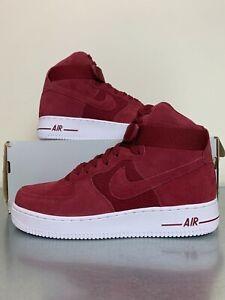 Las mejores ofertas en Nike Rojo Nike Air Force 1 Zapatos ...