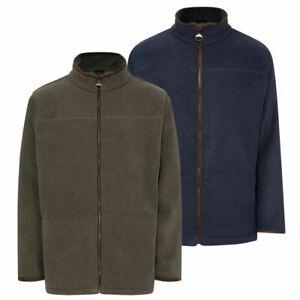 Men's Fleece Jacket Coat Walking Champion Country Estate Berwick Warm Trim Style