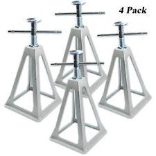 RV Stabilizer Aluminium Stack Jack Stand Camper Van Trailer Screw Adjust 4 Pack
