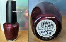 Opi Nail Polish - Discontinued Yankee Pankee Plum Lacquer New Bottle