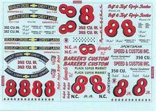 Plastic Performance Products #8 Ralph Earnhardt 1955 Chevy/Chevelle/Camaro decal