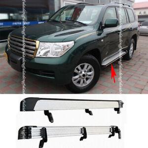For Toyota Land Cruiser FJ/LC200 2008-2020 alloy Car Side Pedal Board Nerf Bars