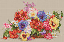 Merejka Cross Stitch Kit-Jardín Flores