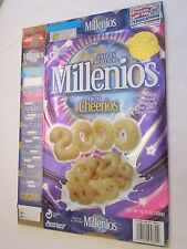 GENERAL MILLS Cereal Box 1999 MILLENIOS From Cheerios 10.75 oz