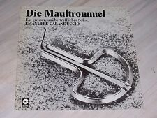 Emanuele CALANDUCCIO - Die Maultrommel / 1975er GOLD Records - LP, No. 11 139  !