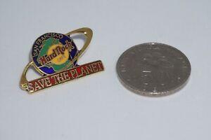 "Hard Rock Cafe -Vintage HRC San Francisco ""Save The Planet"" Earth Orbit pin"