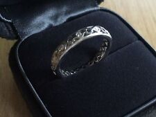 Tiffany & Co Paloma Picasso 18K white gold marrakesh diamond band ring 6.5