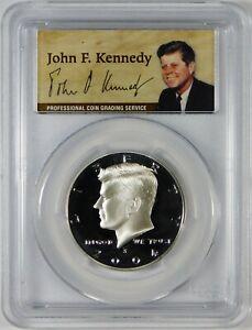 2004-S 50c Proof Kennedy Silver Half Dollar Coin PCGS PR69 DCAM **50th Ann.**