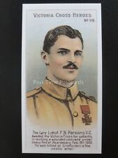 No.119 LIEUT F.N. PARSONS Victoria Cross Heroes 101-125 REPRO Taddy 1904