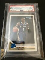 2019 Panini Donruss 201 Zion Williamson RC Rated Rookie PSA 9 MINT