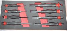 Britool Hallmark HMPC8TC 8 Piece Punch and Chisel Set With Comfort Grip Handles