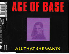 ACE OF BASE - All that she wants CDM 4TR Euro House Synth-Pop 1992 (Metronome)