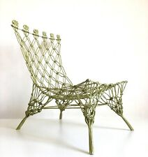 KNOTTED CHAIR DESIGN MARCEL WANDERS CAPPELLINI 1997 RARE DROOG DESIGN