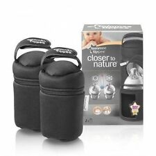 1x Tommee Tippee Closer to Nature Insulated Bottle Carriers