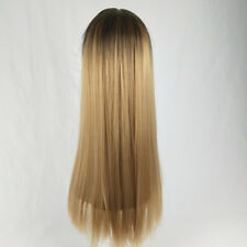 Women Long Straight Multiple Colour Wig Beautiful Natural Looking Wig Synthetic