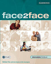 face2face Intermediate Workbook with Key, Good Condition Book, Gillie Cunningham