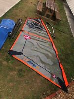 RRD SUP Sail 5.5m with 4.3m mast, boom and bag