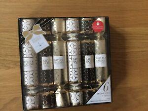 6 Decorative Crackers, Shower Creme, Hand Cream. Debenhams
